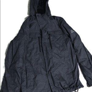 Men's Zeroxposur winter jacket size small grey